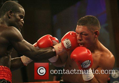 Joshua Clottey vs Felix Flores boxing match held...