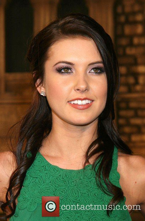 Audrina Patridge Cloverfield Premiere held at Paramount Pictures...