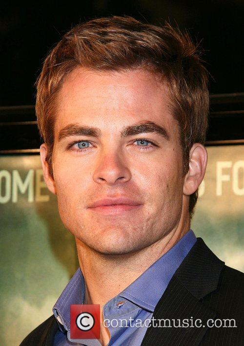 Chris Pine Cloverfield Premiere held at Paramount Pictures...