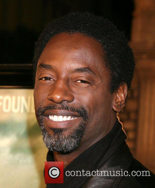 Isaiah Washington Cloverfield Premiere held at Paramount Pictures...