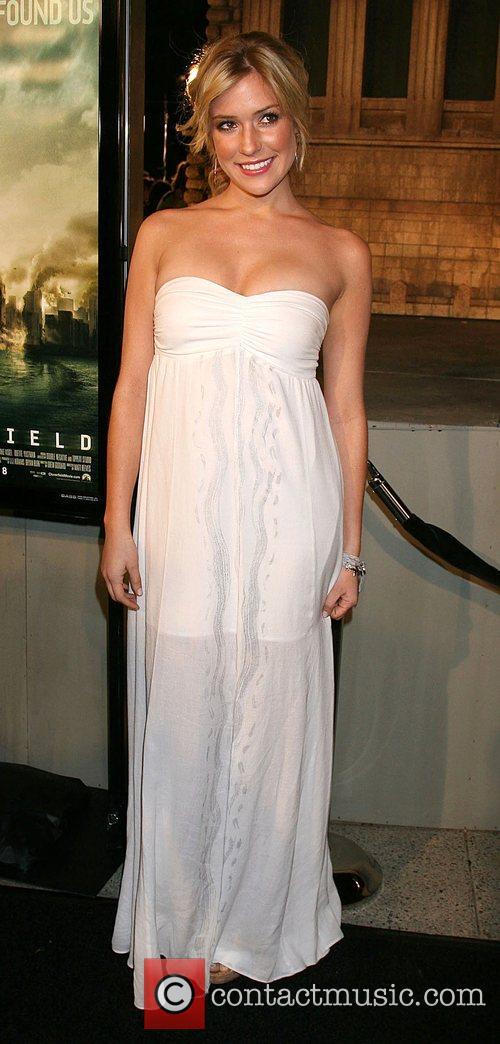 Kristin Cavallari Cloverfield Premiere held at Paramount Pictures...