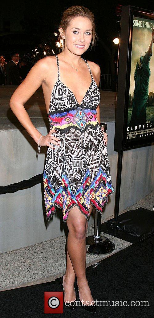 Lauren Conrad Cloverfield Premiere held at Paramount Pictures...