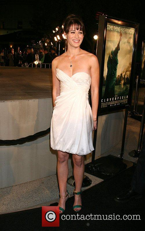 Lizzie Caplan Cloverfield Premiere held at Paramount Pictures...