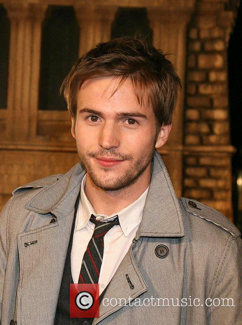 Michael Stahl-David Cloverfield Premiere held at Paramount Pictures...