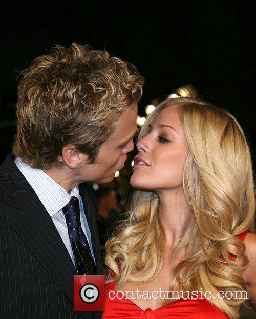 Spencer Pratt and Heidi Montag Cloverfield Premiere held...