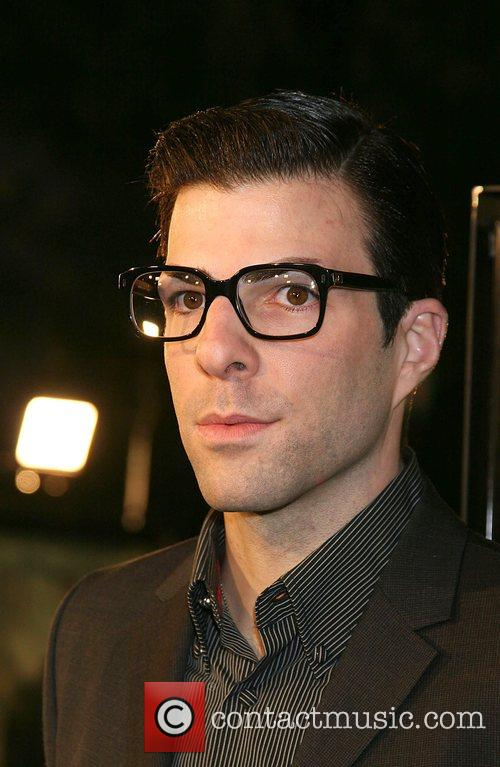 Zachary Quinto Cloverfield Premiere held at Paramount Pictures...