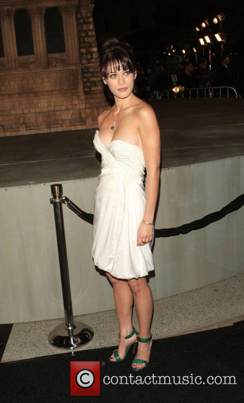 Lizzy Kaplan Los Angeles Premiere of 'Cloverfield' at...