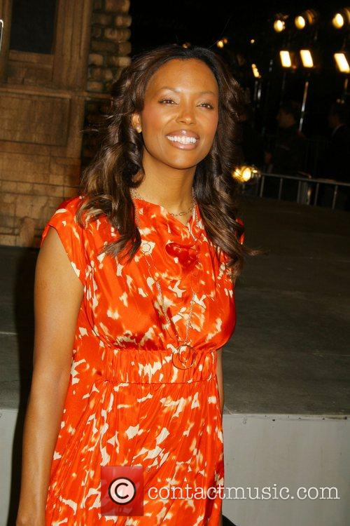 Aisha Tyler Cloverfield Premiere held at Paramount Pictures...