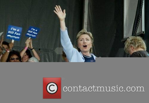 Hillary Clinton speaks at the launch of Club...