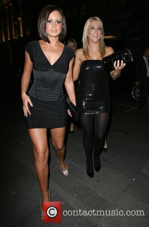 Glamour Model Kayleigh Pearson and Chanelle Hayes at...