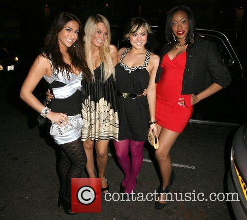 Raquelle Gracie, Emily Biggs, Phoebe Brown and Leah...