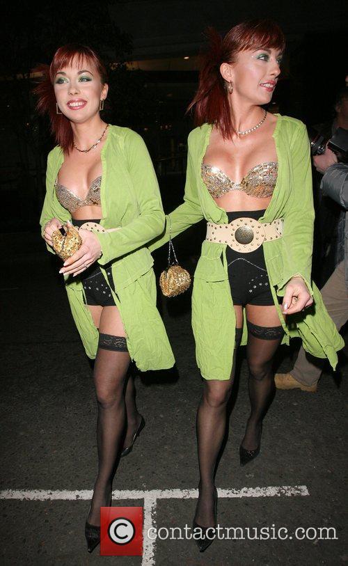 The Cheeky Girls Monica Irimia and Gabriela Irimia...