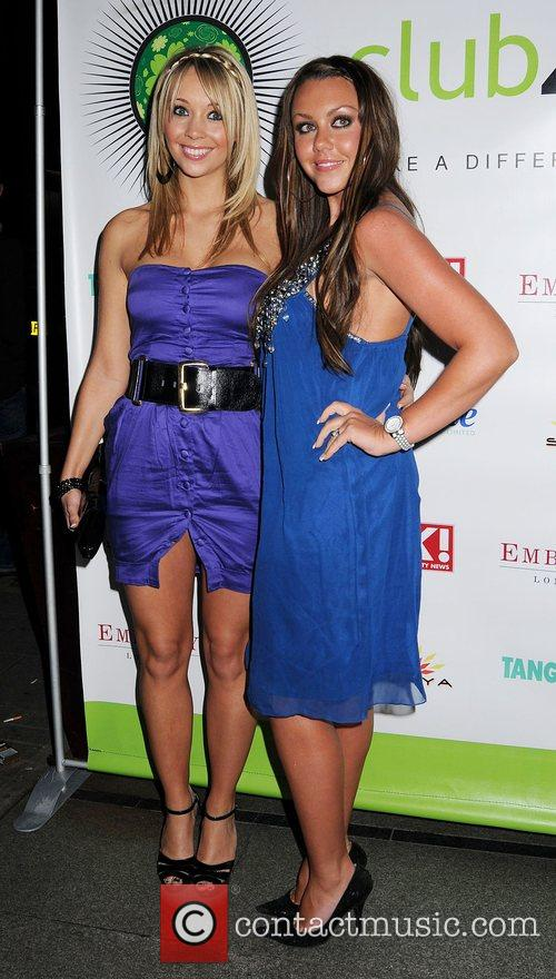 Michelle Heaton and guest Club 4 Climate Party...