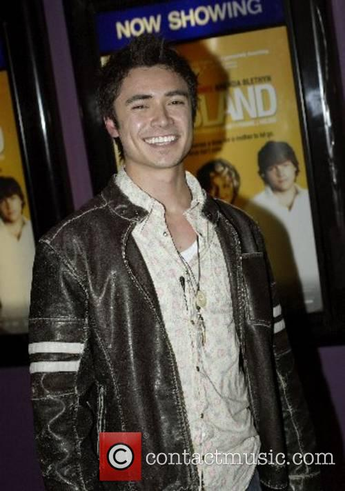 Adam Saunders  at the premiere of '...