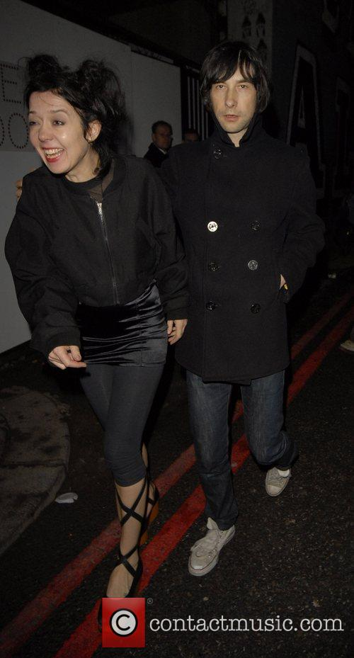 Bobby Gillespie and Davinia Taylor 1