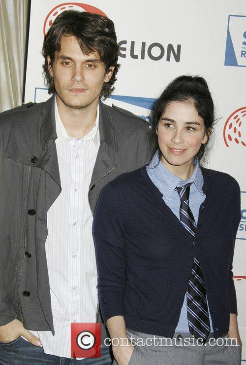 John Mayer and Sarah Silverman 3