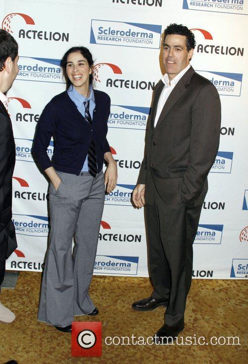 Sarah Silverman and Adam Carolla Scleroderma Research Foundation's...