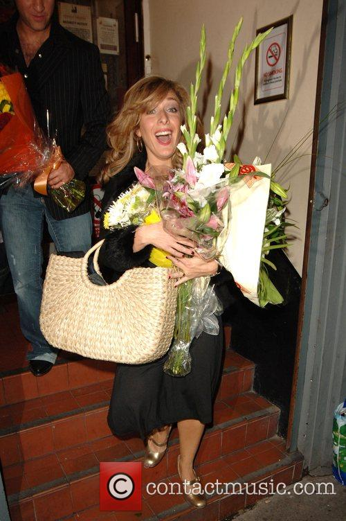 Tracy-Ann Oberman The opening night of West End...
