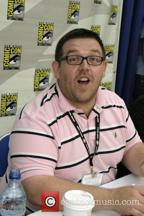 Nick Frost ComicCon Convention 2007 held at the...