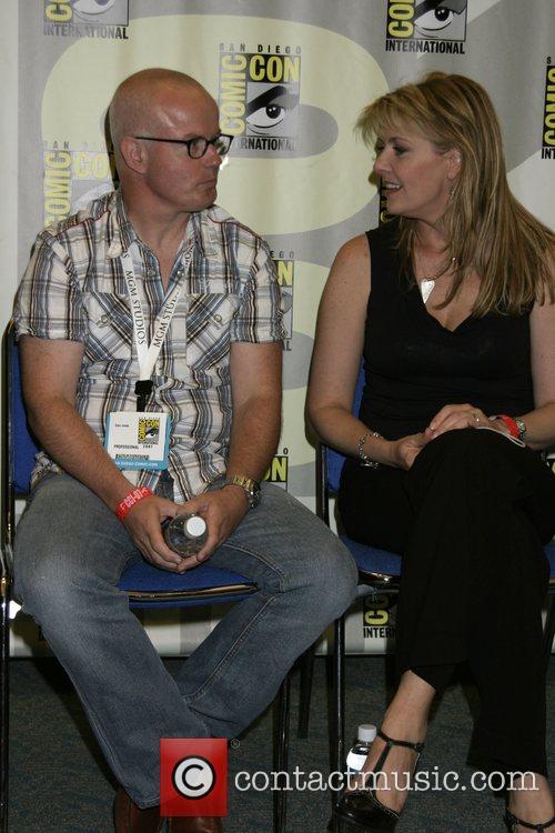 Gary Jones, Amanda Tapping ComicCon Convention 2007 held...