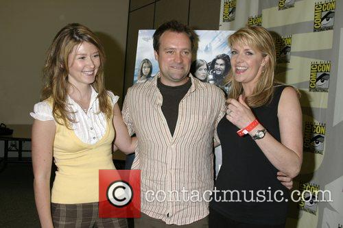 Jewel Staite, David Hewlett, Amanda Tapping ComicCon Convention...