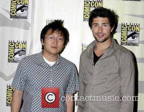 Masi Oka and Matt Dallas ComicCon Convention 2007...