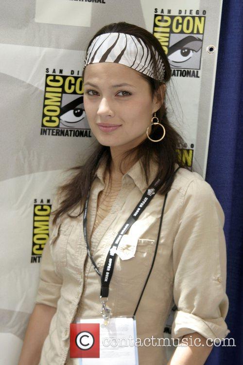 Natassia Malthe ComicCon Convention 2007 - Day 2...