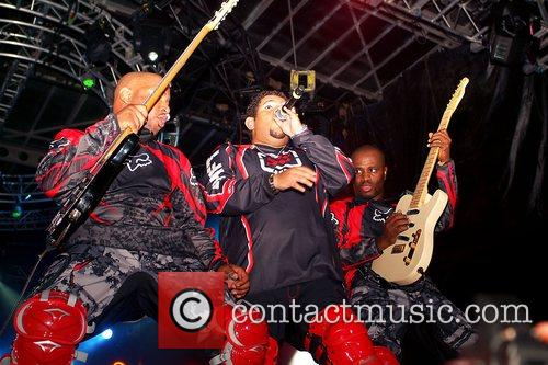 Carimi performing at the 10th Annual Compas Festival...