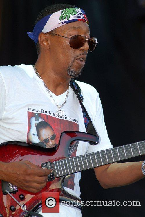 Dadou of Magnum Band performing at the 10th...