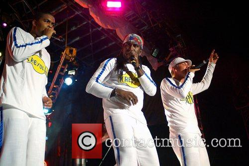 Kreyolla performing at the 10th Annual Compas Festival...