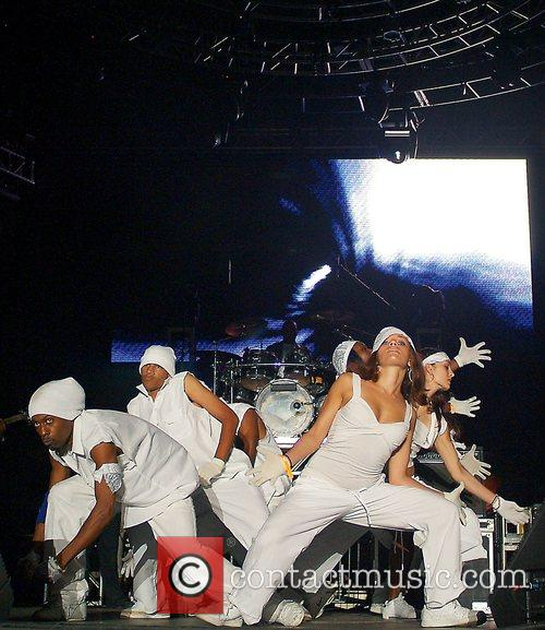 Level Miami's performing on stage at the 10th...