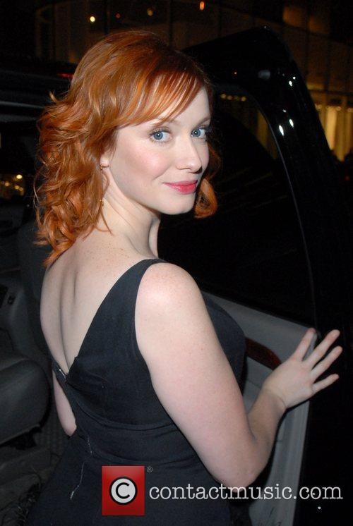 Christina Hendricks and Conan O Brien 7