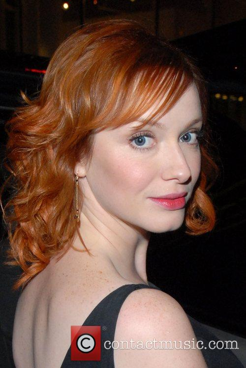 Christina Hendricks and Conan O Brien 5