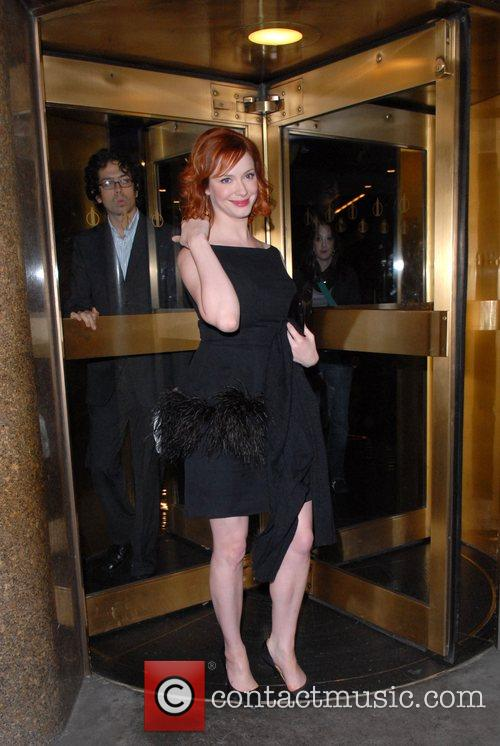 Christina Hendricks and Conan O Brien 4