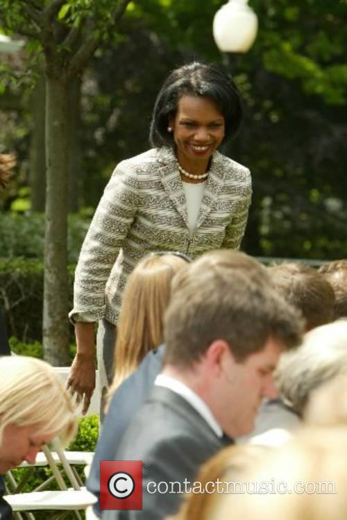 Condoleezza Rice at the Rose Garden on Prime...
