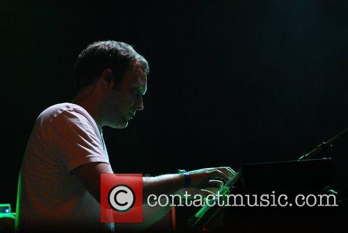Mogwai performing at Connect Music Festival 2007 at...