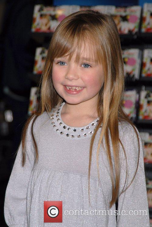 Connie Talbot of 'Britain's Got Talent' visits HMV...