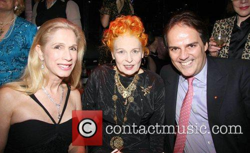 Lady Colin Campbell, Vivienne Westwood and Mark Field...