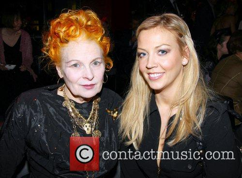 Vivienne Westwood and Liz Fuller Conservative Associations Christmas...