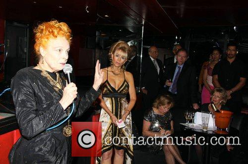 Vivienne Westwood Conservative Associations Christmas party held at...