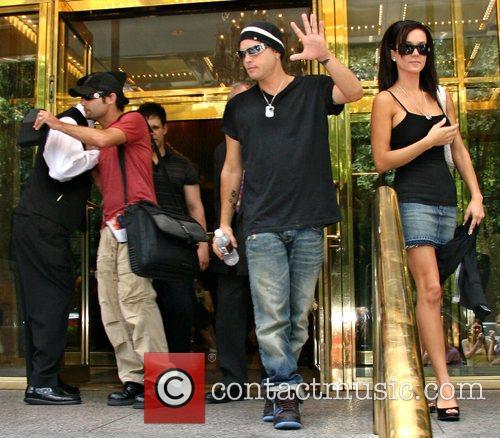 Corey Feldman with his wife Susie Spraque and...