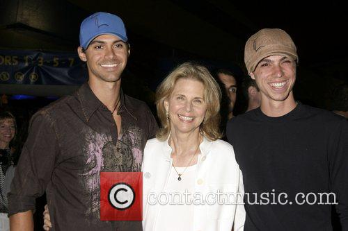 Lindsay Wagner and Her Sons