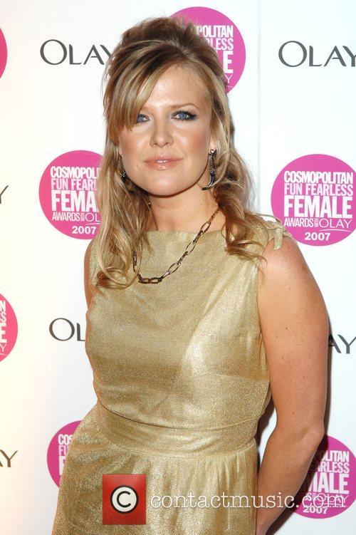 Ashley Jensen Cosmopolitan Fun Fearless Female Awards held...