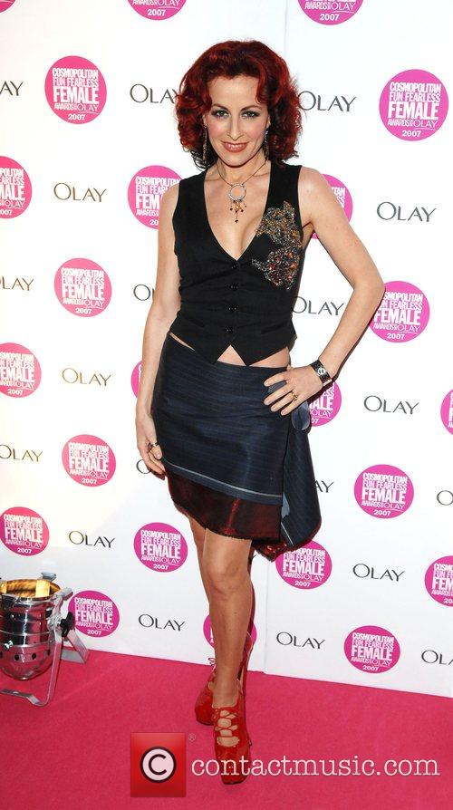 Carrie Grant Cosmopolitan Fun Fearless Female Awards held...