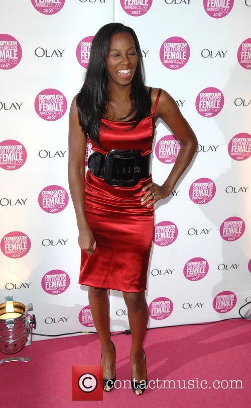 Jamelia Cosmopolitan Fun Fearless Female Awards held at...