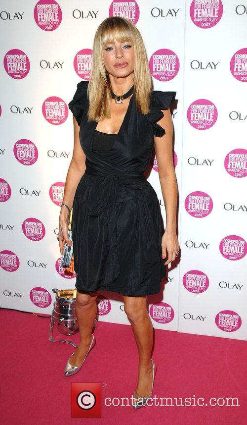 Tess Daly Cosmopolitan Fun Fearless Female Awards held...