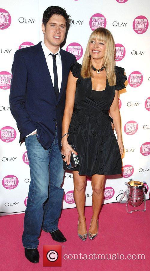 Vernon Kay and Tess Daly Cosmopolitan Fun Fearless...