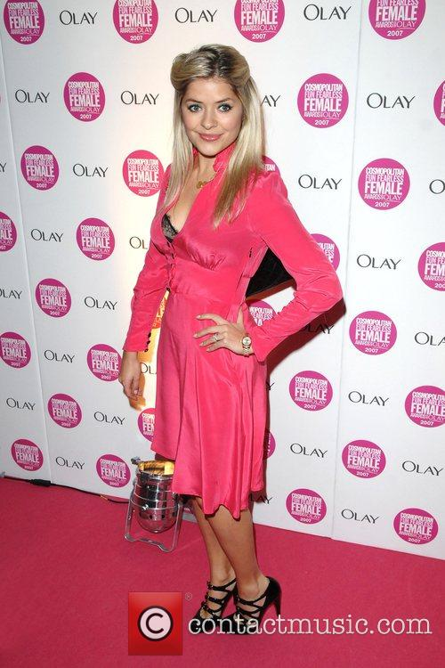 Holly Willoughby and Fearless 3
