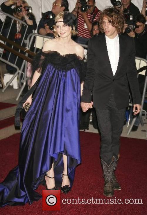 Kirsten Dunst and guest 'Poiret: King of Fashion'...