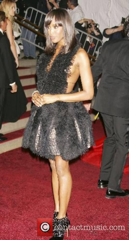 Naomi Campbell 'Poiret: King of Fashion' Costume Institute...